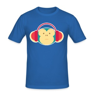 Funky Monkey - Men's Slim Fit T-Shirt