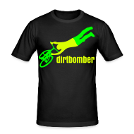 T-Shirts ~ Männer Slim Fit T-Shirt ~ dirtbomber superseater Neon