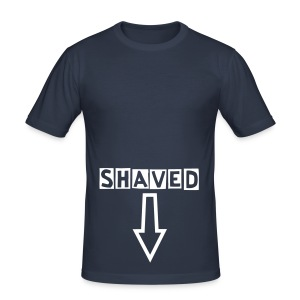 shaved... - slim fit T-shirt