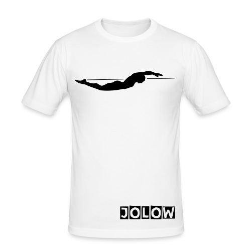 JOLOW Swim Tee - Men's Slim Fit T-Shirt