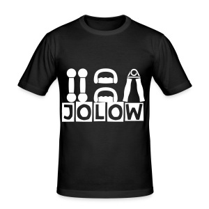 JOLOW Gym Tee - Men's Slim Fit T-Shirt
