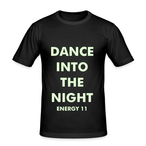 DANCE INTO THE NIGHT (Glow in the Dark Edition) - Men's Slim Fit T-Shirt