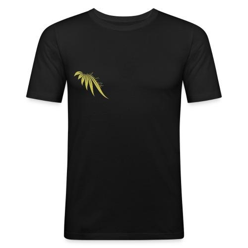 Angels'Life logo Or Droit - T-shirt près du corps Homme