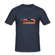 Tee shirts ~ Tee shirt près du corps Homme ~ 403 FIRE ROUGE