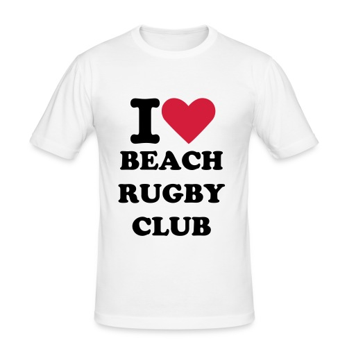 I LUV BEACH RUGBY - T-shirt près du corps Homme