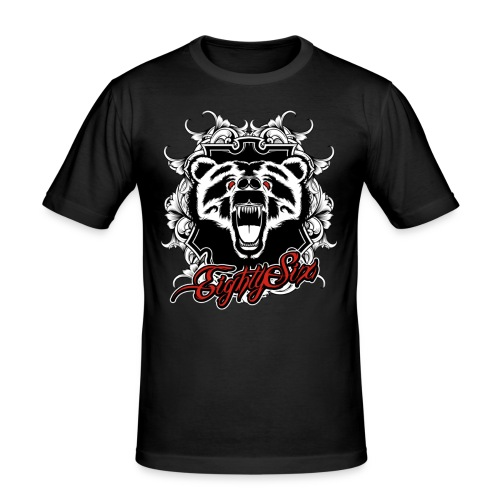 Le Grizzly - Männer Slim Fit T-Shirt