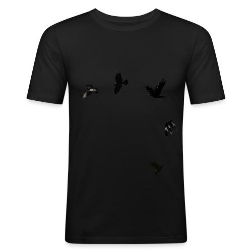 Rabenschwarz - Männer Slim Fit T-Shirt