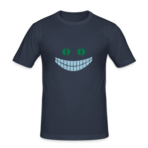 Alice in Wonderland: Cheshire cat - Tee shirt près du corps Homme