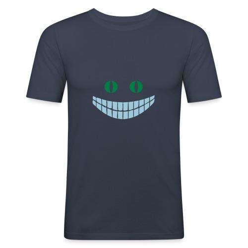 Alice in Wonderland: Cheshire cat - T-shirt près du corps Homme