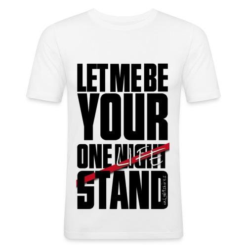 One life stand - Boys - Männer Slim Fit T-Shirt