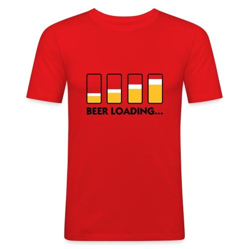 Beer Loading - Maglietta aderente da uomo