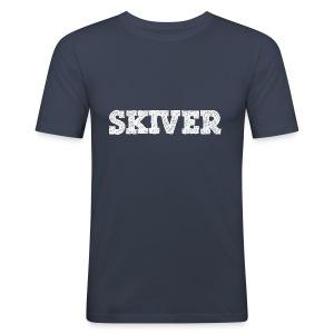 Skiver - Men's Slim Fit T-Shirt