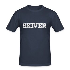 Skiver - Men's Slim Fit T-Shirt