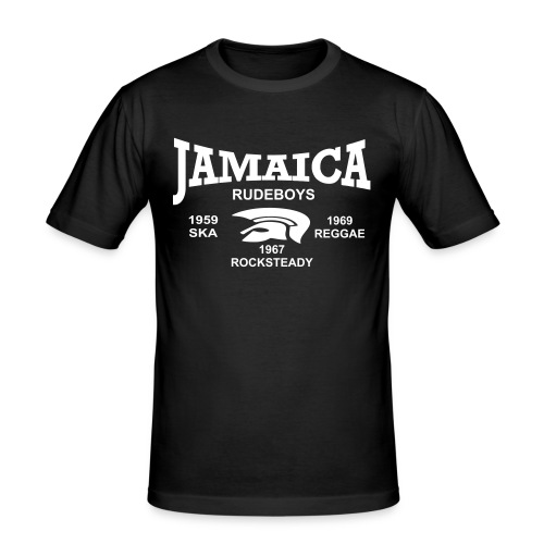 Jamaica Rudeboys - Männer Slim Fit T-Shirt