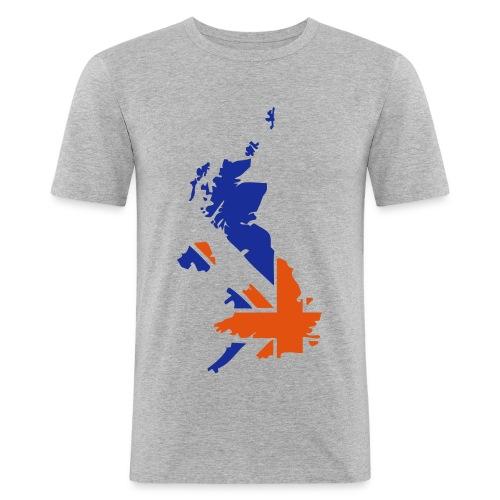 England - Maglietta aderente da uomo