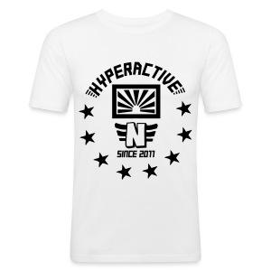 hyperactive flock on slimtee - Männer Slim Fit T-Shirt
