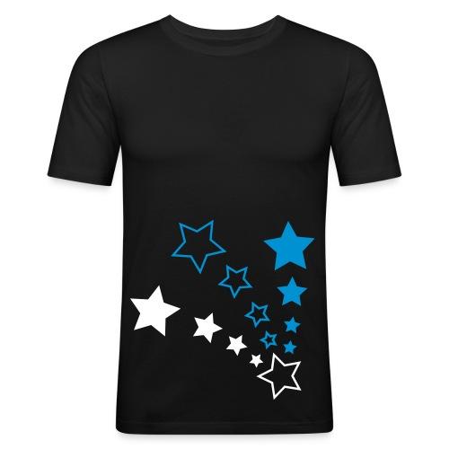Sterne - Männer Slim Fit T-Shirt