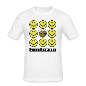 Fantazia & 9 Smilies Mens T-shirt - Men's Slim Fit T-Shirt
