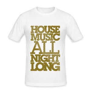 All Night Long Tee - Men's Slim Fit T-Shirt