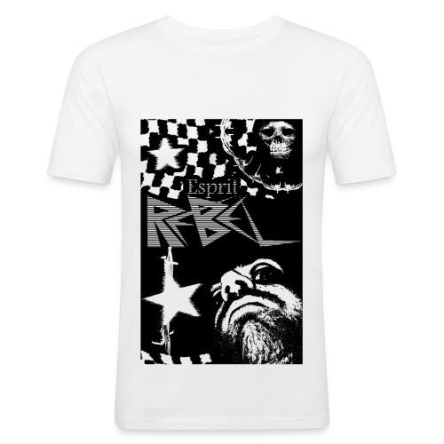 Esprit rebelle - Tee shirt près du corps Homme