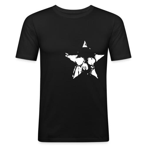 Skull Star - Men's Slim Fit T-Shirt
