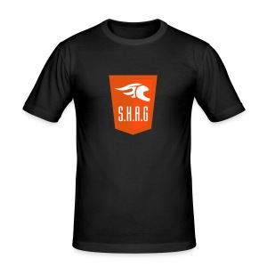 Shag logo dec 11 - Slim Fit T-skjorte for menn