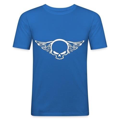 Skull H wings D - T-shirt près du corps Homme
