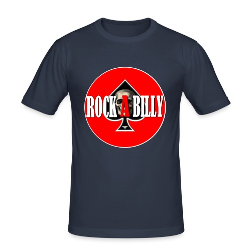 rock a billy as - Tee shirt près du corps Homme