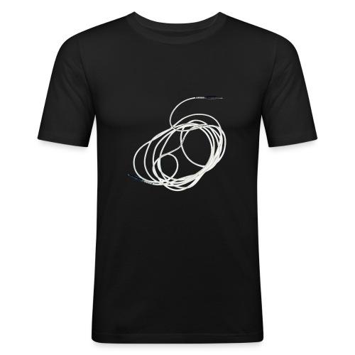 PNS-Tontechnik-Fanshirt - Männer Slim Fit T-Shirt