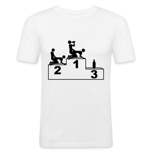 T-SHIRT UOMO - 1-2-3 POSITION - Maglietta aderente da uomo