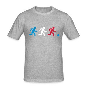 Three players France - Tee shirt près du corps Homme