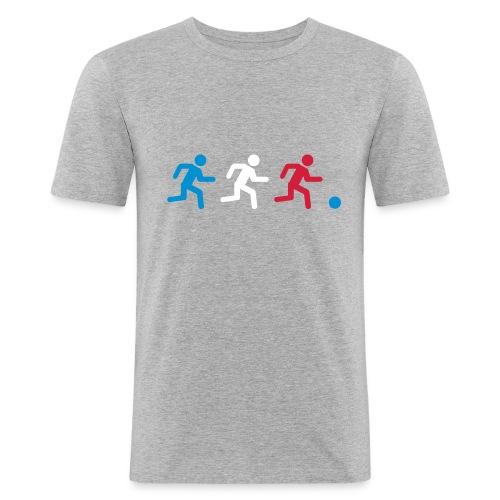 Three players France - T-shirt près du corps Homme