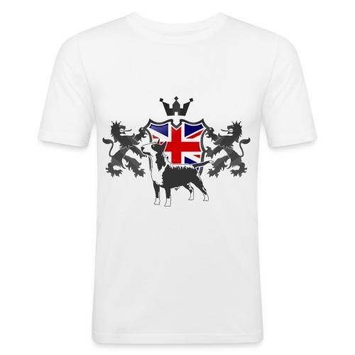 Pride of UK - Men's Slim Fit T-Shirt