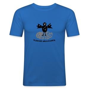 tier t-shirt kinder baby schmutzfink fink spatz dreckspatz schmutzig dreckig schmutz dreck - Männer Slim Fit T-Shirt