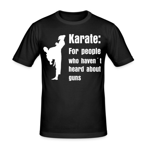 Karate - Men's Slim Fit T-Shirt