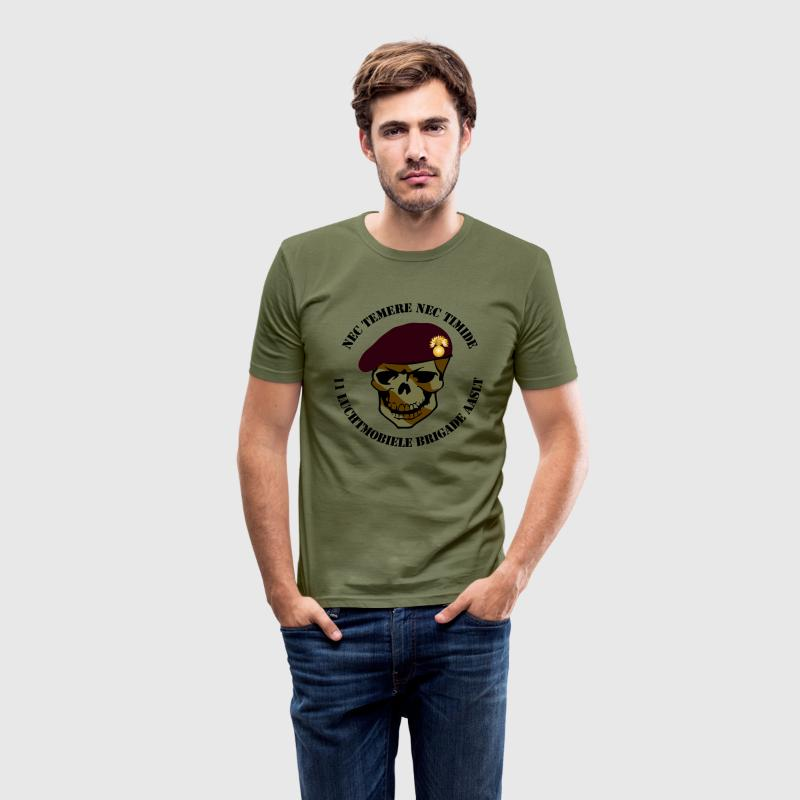 Nec Temere Nec Timide Garde Grenadiers 11 Luchtmobiele Brigade AASLT T-shirts - slim fit T-shirt