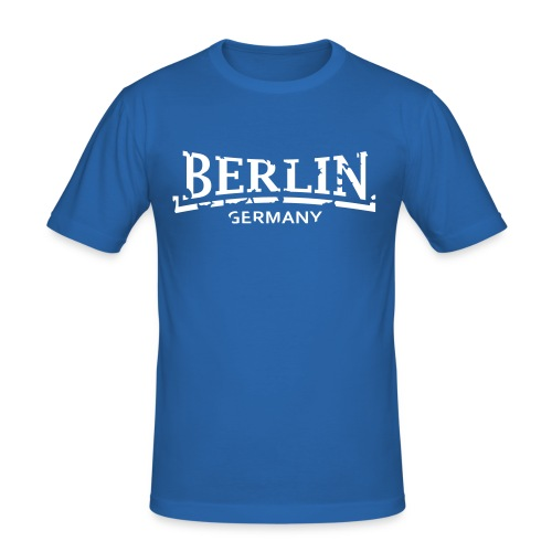 Berlin Germany Männer Slim Fit T-Shirt - Männer Slim Fit T-Shirt