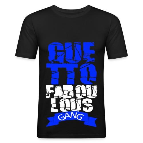 T shirt homme guetto faboulous gang - T-shirt près du corps Homme