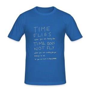 Time Flies - Men's Slim Fit T-Shirt