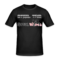 T-Shirts ~ Men's Slim Fit T-Shirt ~ Steel Tris Steal Wives
