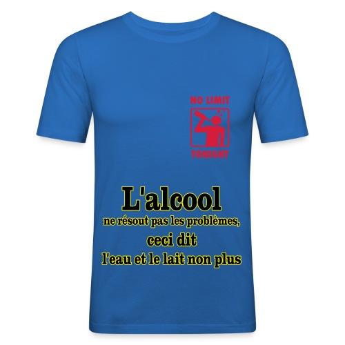 T-shirt près du corps Homme - l'acool