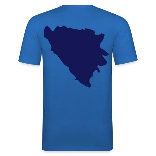 100% BOSANAC - Herre Slim Fit T-Shirt