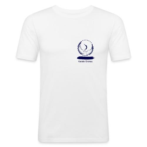 Karate Gronau (Männer-T-Shirt), Slim - Männer Slim Fit T-Shirt