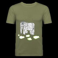 T-Shirts ~ Men's Slim Fit T-Shirt ~ Elephant
