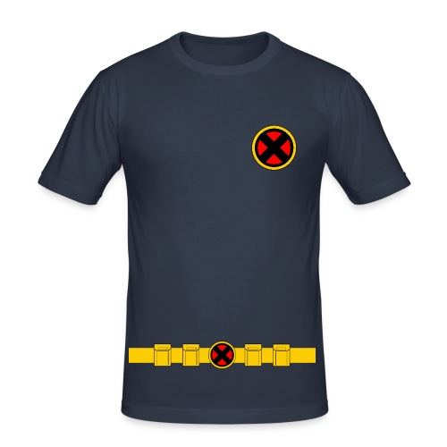 X-Men Classic Uniform - MENS - Men's Slim Fit T-Shirt