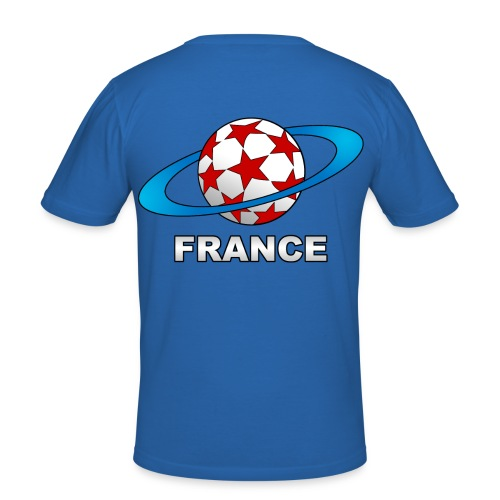 t-shirt supporter football france - Men's Slim Fit T-Shirt