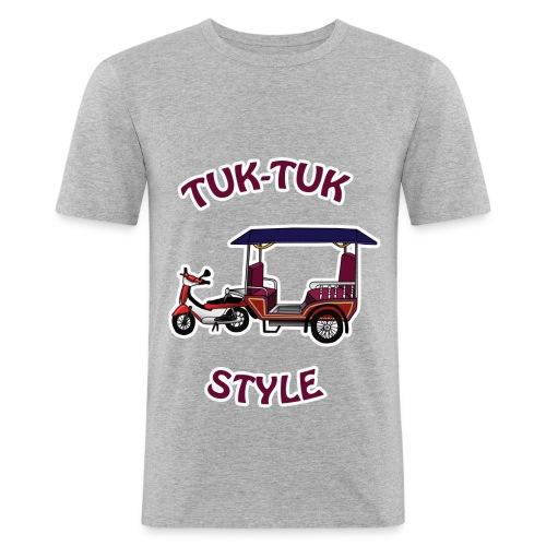 t-shirt tuk tuk - T-shirt près du corps Homme