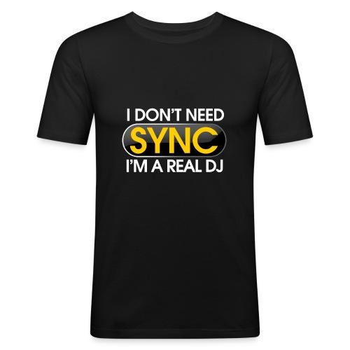 T-Shirt I'M a Real DJ - T-shirt près du corps Homme