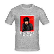 T-Shirts ~ Men's Slim Fit T-Shirt ~ EVERYBODY'S RUSSIAN!