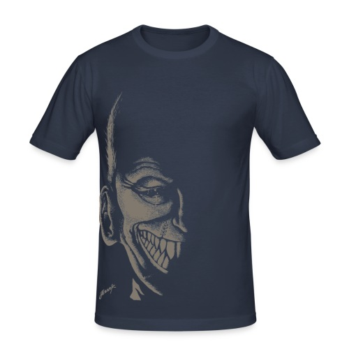 A Grin in The Dark - Slim Fit T-shirt herr